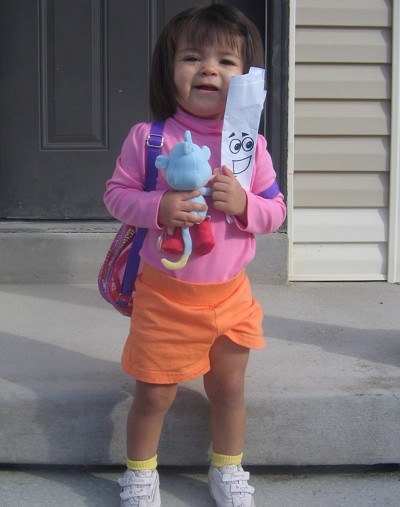 Halloween Costume Dora the Explorer