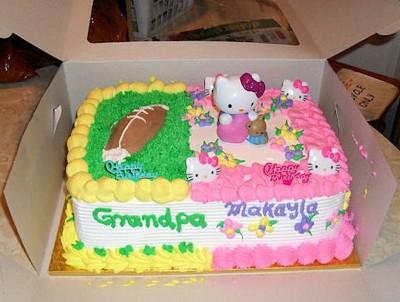 One Birthday Cake for Two Birthdays ThriftyFun