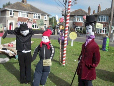 Travel: Scarecrow Competition (Uphill, UK)