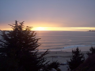 Scenery: Sunset (Monterey Bay, CA)