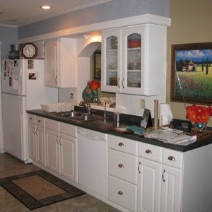 Paint Color Advice For A White And Gray Kitchen ThriftyFun - Slate gray kitchen cabinets