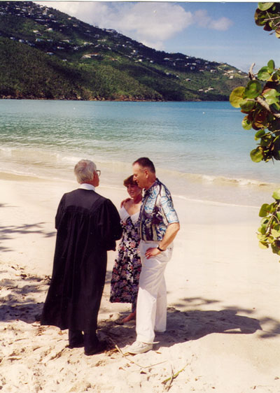Renewal of Wedding Vows, St. Thomas
