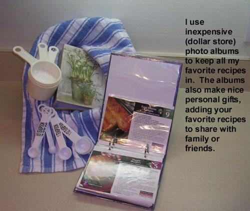 Use Photo Albums To Organize Recipes Thriftyfun