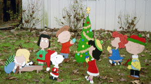 Homemade Outdoor Christmas Decorations Thriftyfun