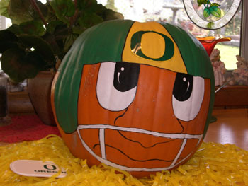 Oregon Ducks Pumpkin