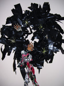 Craft: Quick Halloween Wreath
