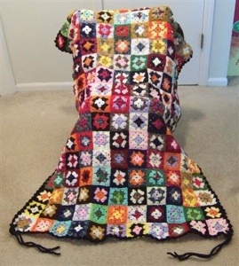 Craft: Granny Square Wheelchair Lapghan