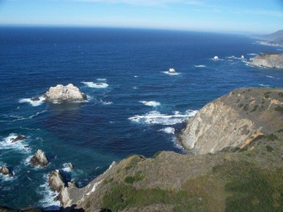 Scenery: Monterey Bay, California