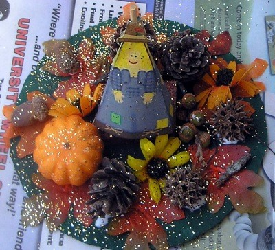Craft Project: Harvest Table Decoration