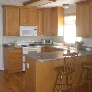 Stain Color Suggestions for Kitchen Cabinets? | ThriftyFun
