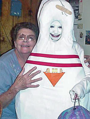 Memaw and the Bowling Pin