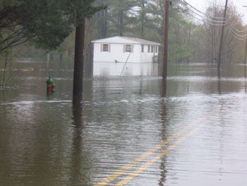 Flooding in Maine