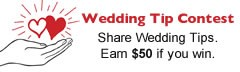 Share a Wedding Tip