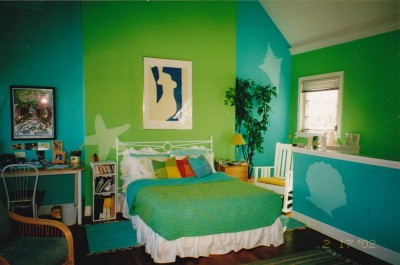 Painting a room two colors thriftyfun - Colores para pintar dormitorios juveniles ...