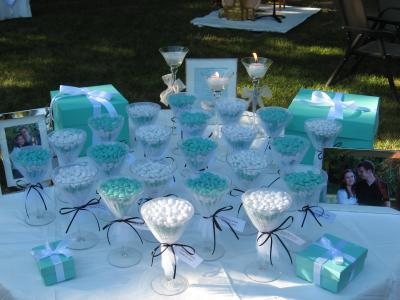 ideas for breakfast at tiffanys bridal shower party