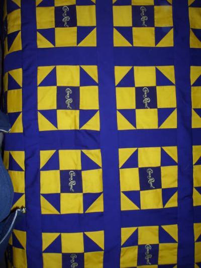 Crown Royal Bag Quilt Thriftyfun