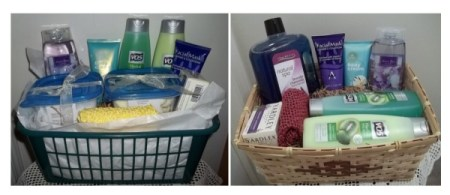 Photos of Spa Baskets