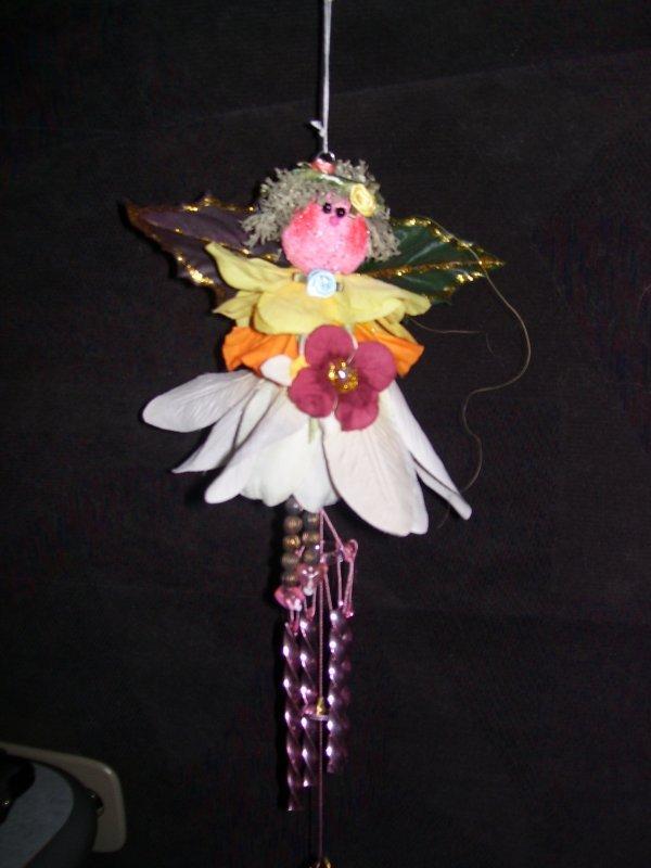 Silk Flower Angel