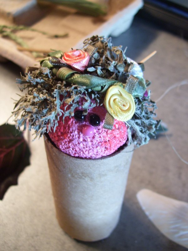 Making silk flower angels thriftyfun silk flowers mightylinksfo