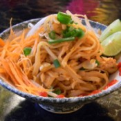 photo of shrimp pad thai