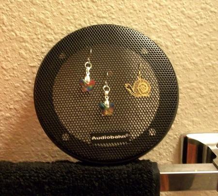 Photo of Speaker Cover for Earrings