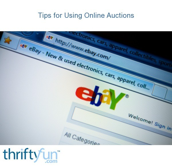 How To Use Online Auctions And Not Get Burned Thriftyfun