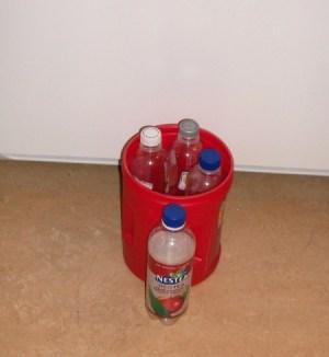 Photo of Plastic Bottle outside of Bucke