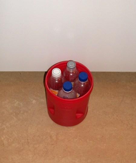 Photo of Plastic Bottles in Bucket