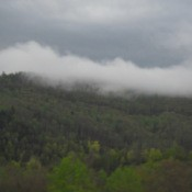 Clouds in the Mountains of West Virginia
