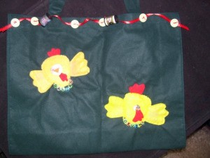 My Peeps tote bag for Mother's Day