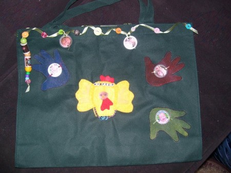 Another version of the My Peeps Tote