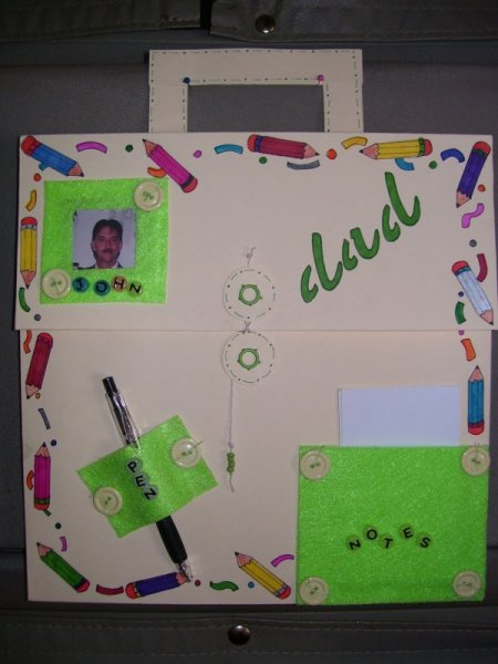 A kit of stationery and supplies for Father's Day.