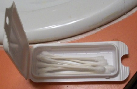 Photo of a Band Aid Box Qtips