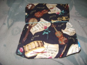 Photo of Fabric Covered Notepad