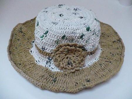 Finished Plarn hat