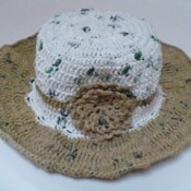 Finished Plarn hat