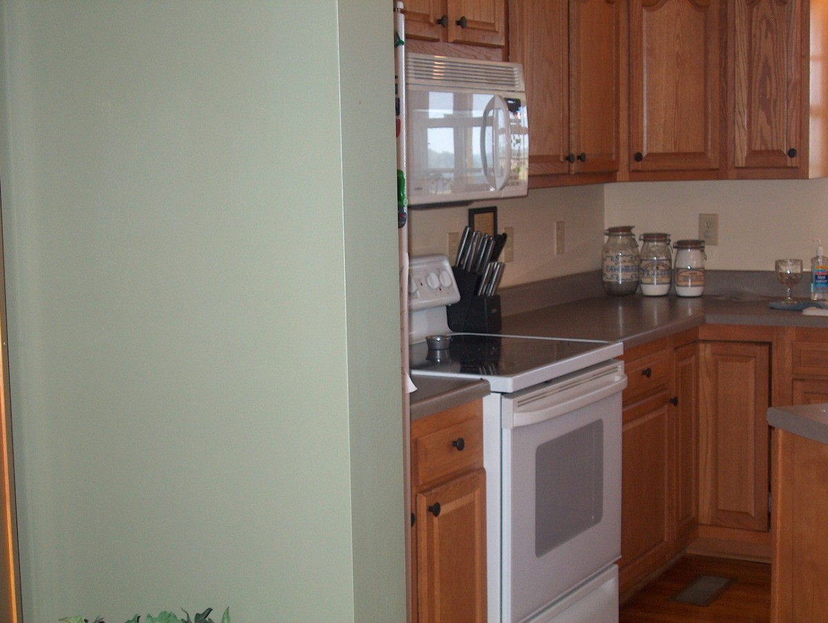 Paint Color Advice for Kitchen With Oak Cabinets | ThriftyFun