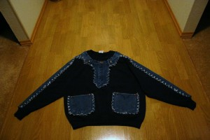 Jean Embelished Shirt Finished