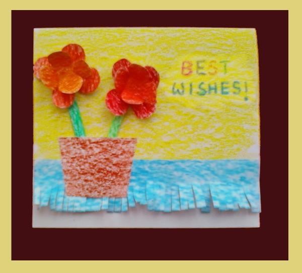 Flower Card Finished