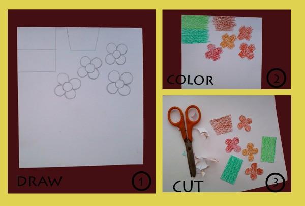 Flower Card Step 3