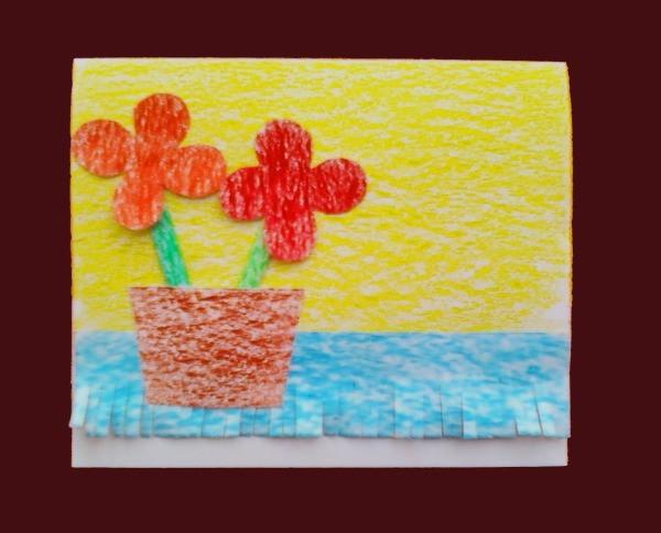 Flower Card Step 6