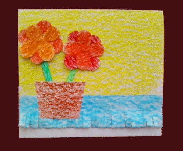 Flower Card Step 7