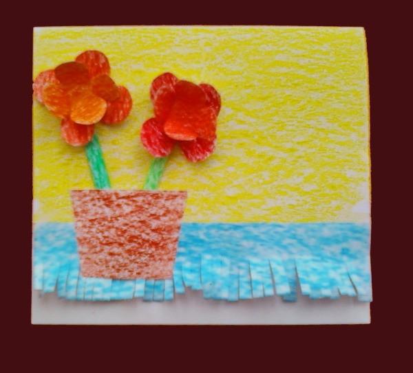 Flower Card Step 8