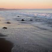 The beach near Santa Barbara, California.