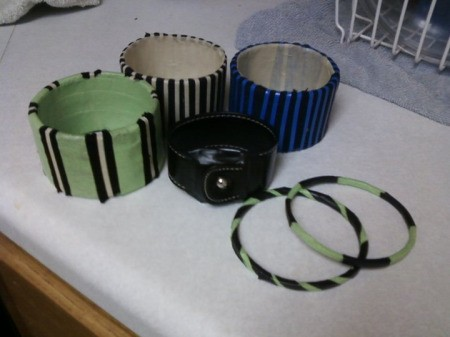 cuff and bangle bracelets
