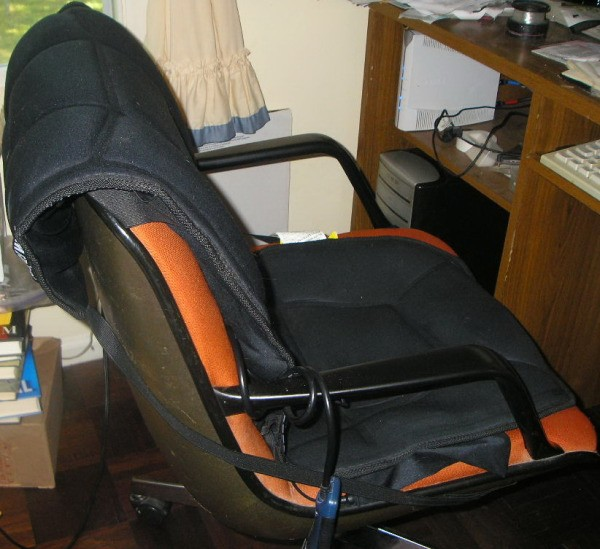 Add Heat And Massage To Your Office Chair