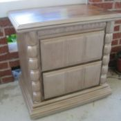 Refinished chest of drawers