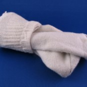 A picture of a pair of socks.