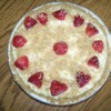 Completed strawberry pie