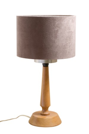 picture of a dusty lampshade